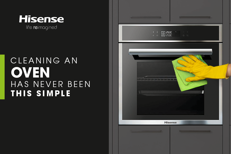 Cleaning an Oven Has Never Been This Simple